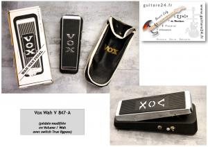 Vox 847-A Wah / Volume
